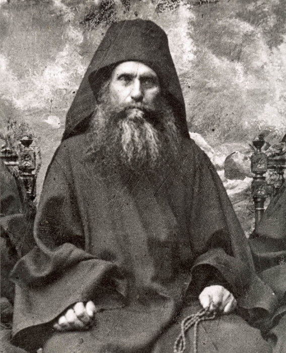 """portrait of Silouan the Athonite"" 1930"